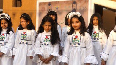 Photo of تغطية مهرجان أصالة وفن ) والذي يشرف عليه نادي الحي بنات في المتوسطة الثالثة بشقراء