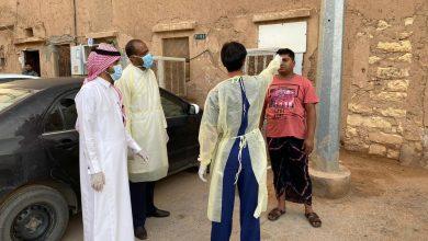 Photo of المراكز الصحية بشقراء تقوم بالكشف الصحي على العمال