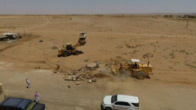 Photo of بلدية القصب تزيل ٣٥٤٠٠ مترمربع تعديات على ارضٍ حكومية