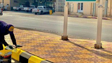 Photo of بلدية القصب تقوم بصيانة الأرصفة وتنظيف الأراضي