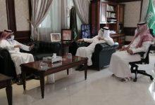 Photo of محافظ شقراء يستقبل مدير فرع شركة الاتصالات السعودية