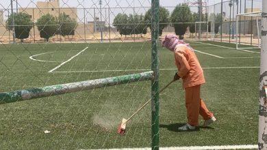 Photo of بلدية القصب تنظف وتعقم الملاعب والساحات وتعلن جاهزيتها