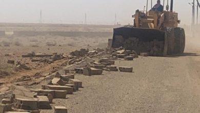 Photo of ازالة تعديات على اراضٍ حكومية تقدر ب ١١٣٠٠ متر مربع بمركز الجريفة