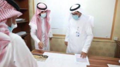Photo of رئيس جامعة شقراء يتفقد كليات محافظة عفيف ويقف على احتياجاتها