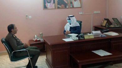 Photo of محافظ شقراء الأستاذ / عادل بن عبدالله البواردي يزور مخفر شرطة القصب