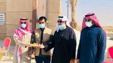 Photo of بلدية القصب تدشن مجسم دوار ميدان الملك عبدالعزيز