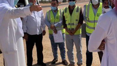 Photo of محافظ شقراء يتفقد طريق شقراء المستوي